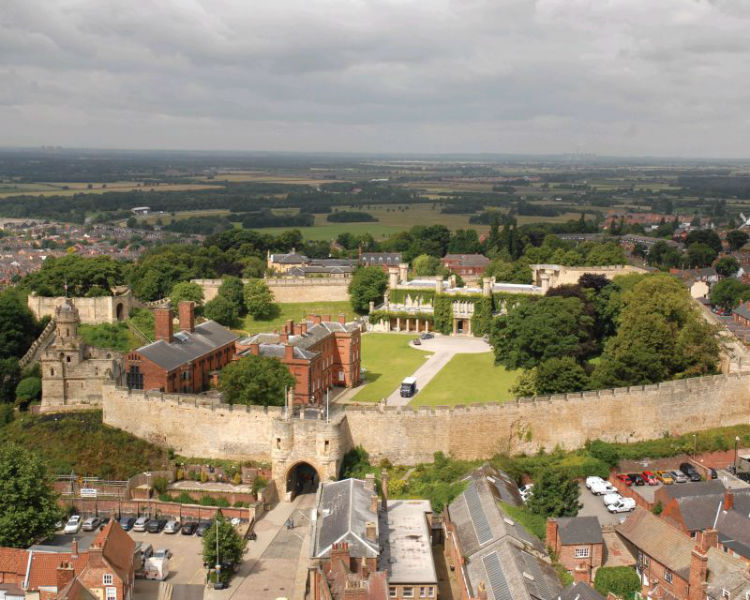 Lincoln Castle by kind permission of Visit England