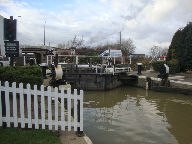 Fossdyke Canal at Torksey Lock