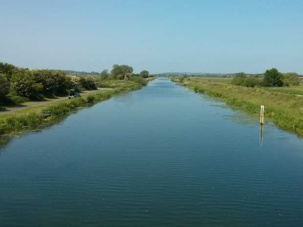 The Water Rail way along the River Witham